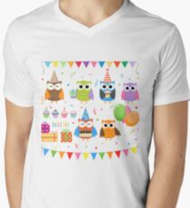 Birthday Party Owls T-Shirt