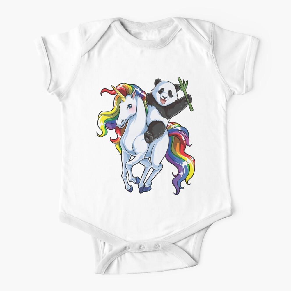 Santa Riding Unicorn Rainbow Ugly Christmas Youth Kids T-Shirt Gift Idea