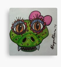 reptile cute Canvas Print