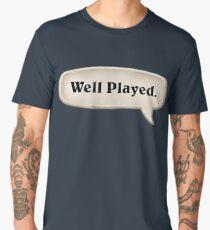 Well Played Emote Men's Premium T-Shirt