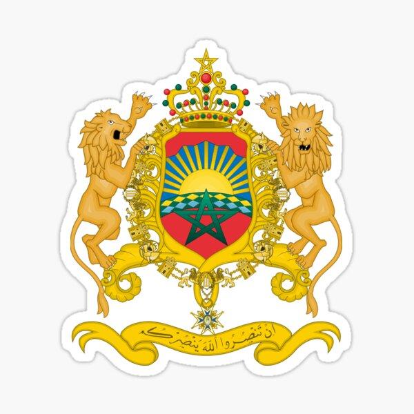Maroc Sticker