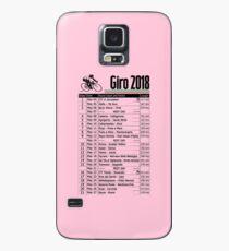 Giro d'Italia 2018 Case/Skin for Samsung Galaxy