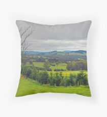Kangaloon View No 1 Throw Pillow