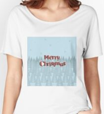 New Year Christmas winter holidays  Women's Relaxed Fit T-Shirt