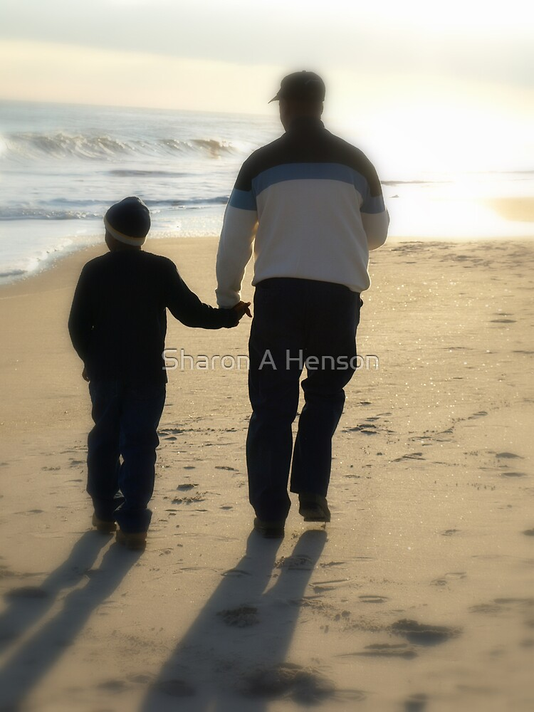 FATHER AND SON by Sharon A. Henson