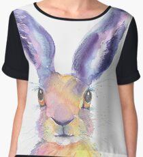 Rainbow Hare Women's Chiffon Top