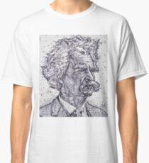 MARK TWAIN - ink portrait Classic T-Shirt