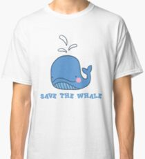 Save the Whale Classic T-Shirt