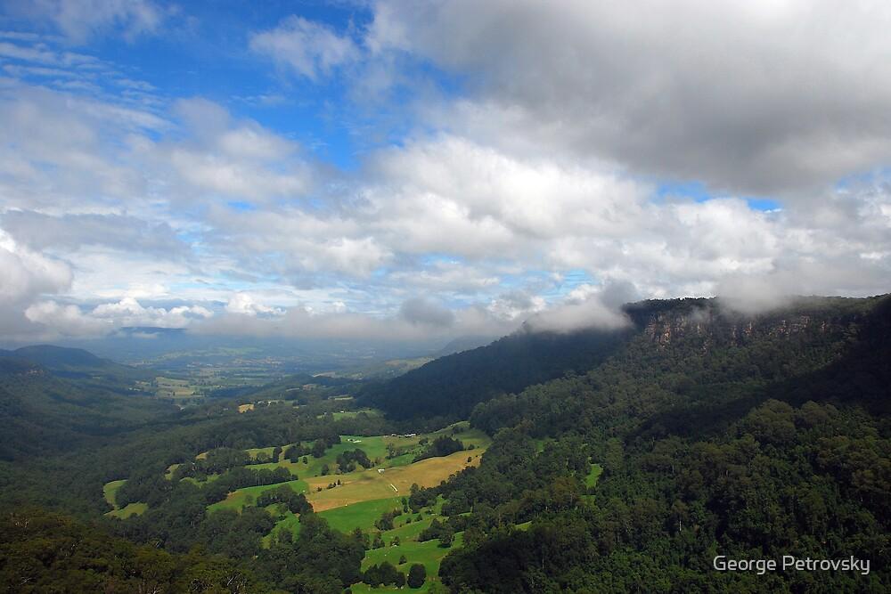 Upper Kangaroo Valley No 1 by George Petrovsky