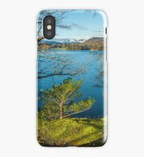 Lake Windermere on a winter morning iPhone Case/Skin
