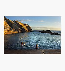 Bermagui Blue Pool Photographic Print