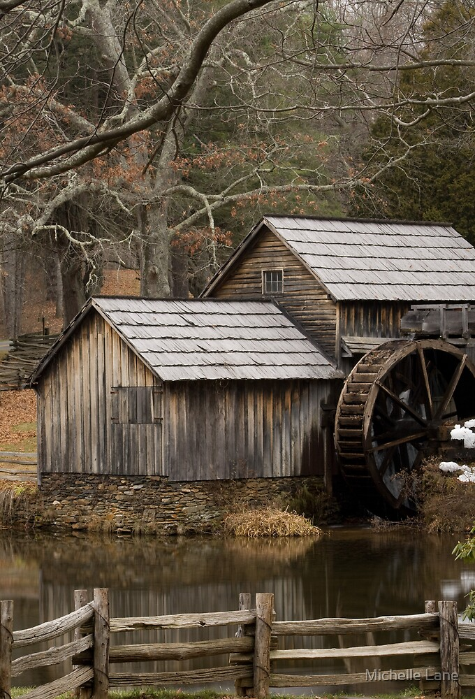 Mabry Mill by Michelle Lane