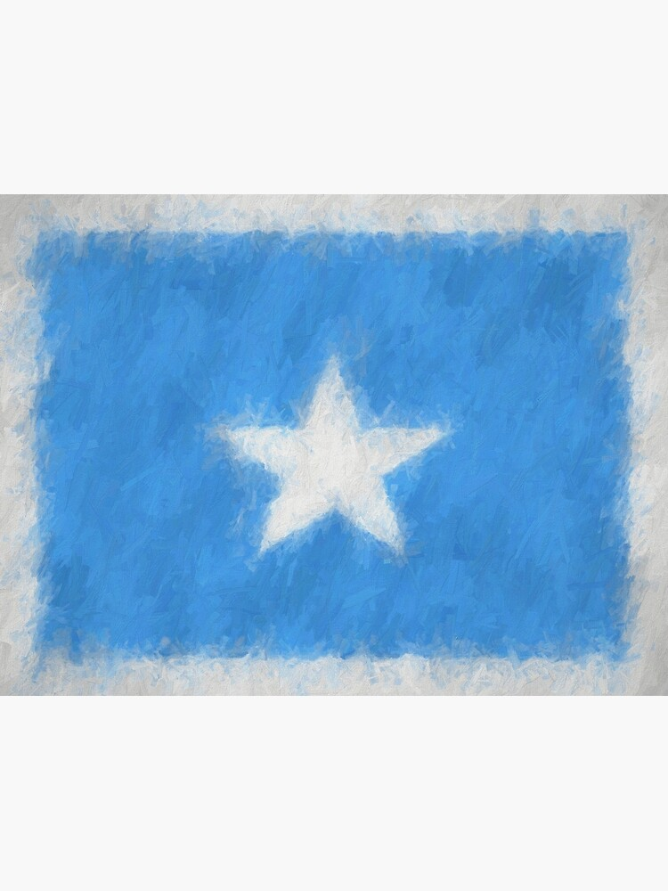 Somalia Flag Reworked No. 66, Series 4 by 8th-and-f