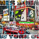 Times Square New York City by Raymond Warren