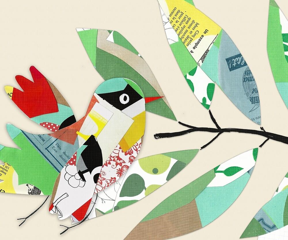 « The Bird - Collage » par Mireille  Marchand