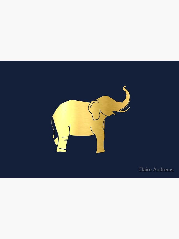 Gold Elephant by Claireandrewss
