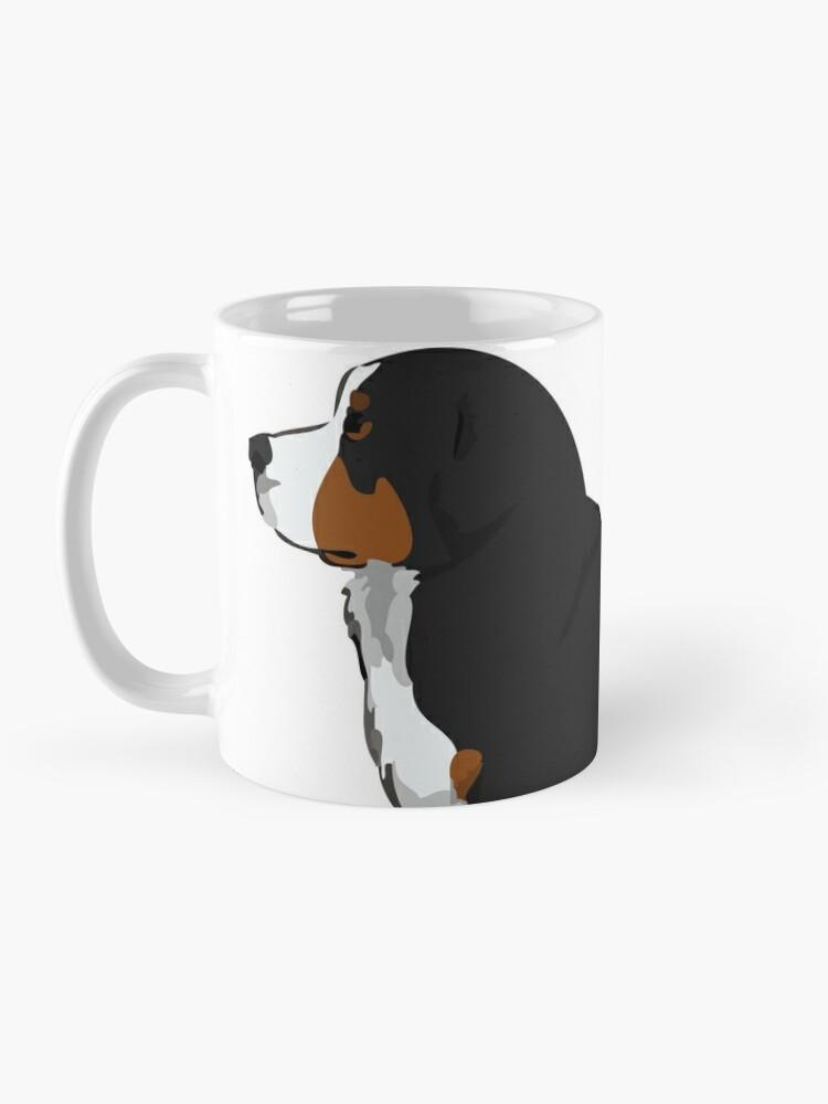 Alternate view of Bernese Mountain Dog Mug