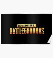 Playerunknown's Battlegrounds Poster
