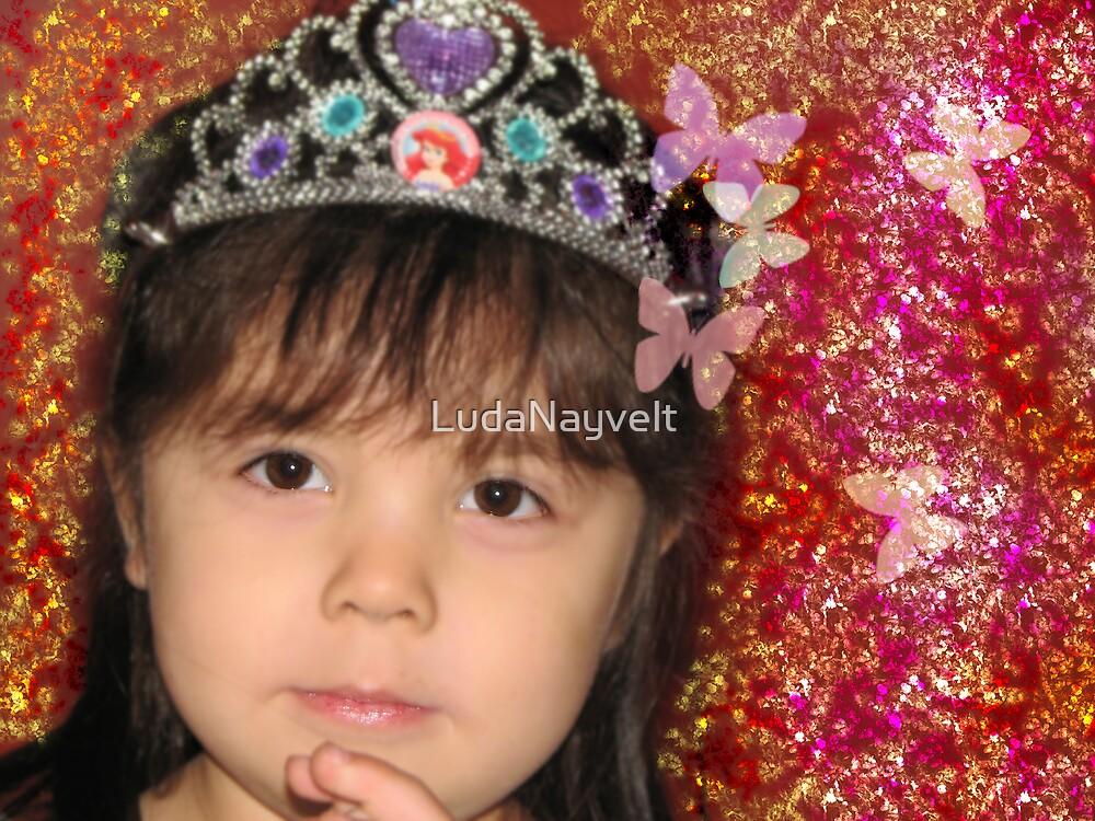 My little niece  by LudaNayvelt