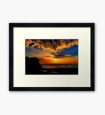 """Jan Juc Sunrise"" Framed Print"