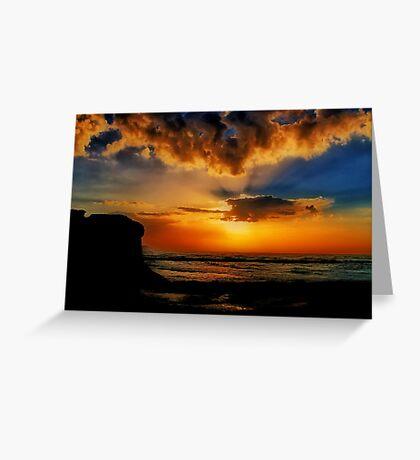"""Jan Juc Sunrise"" Greeting Card"