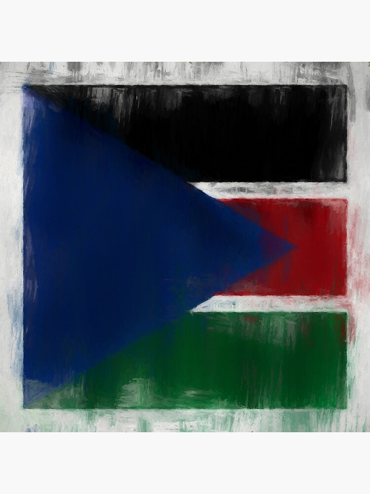 South Sudan Flag Reworked No. 2, Series 2 by 8th-and-f