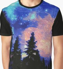The Galaxy Above Us Graphic T-Shirt