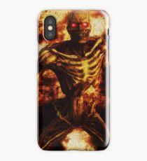 Fire Demon iPhone Case