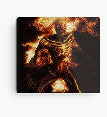 Fire Demon Metal Print