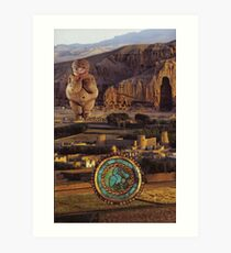 M Blackwell - Awakening of the Vengeful MotherGod... Art Print