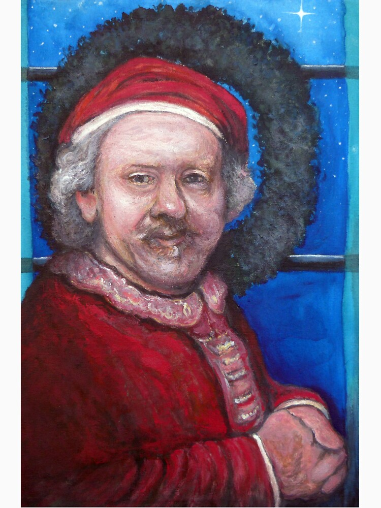Rembrandt Santa by donnaroderick