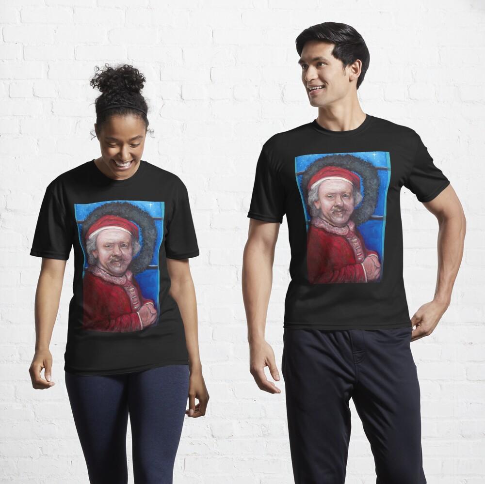 Rembrandt Santa Active T-Shirt