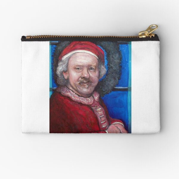 Rembrandt Santa Zipper Pouch