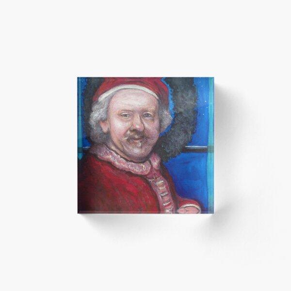 Rembrandt Santa Acrylic Block