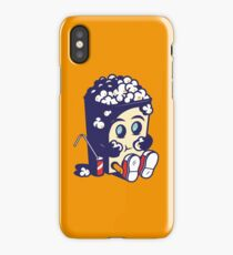Movie Fan Popcorn Monster iPhone Case/Skin