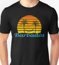 Barbados Smiling Sunset Unisex T-Shirt