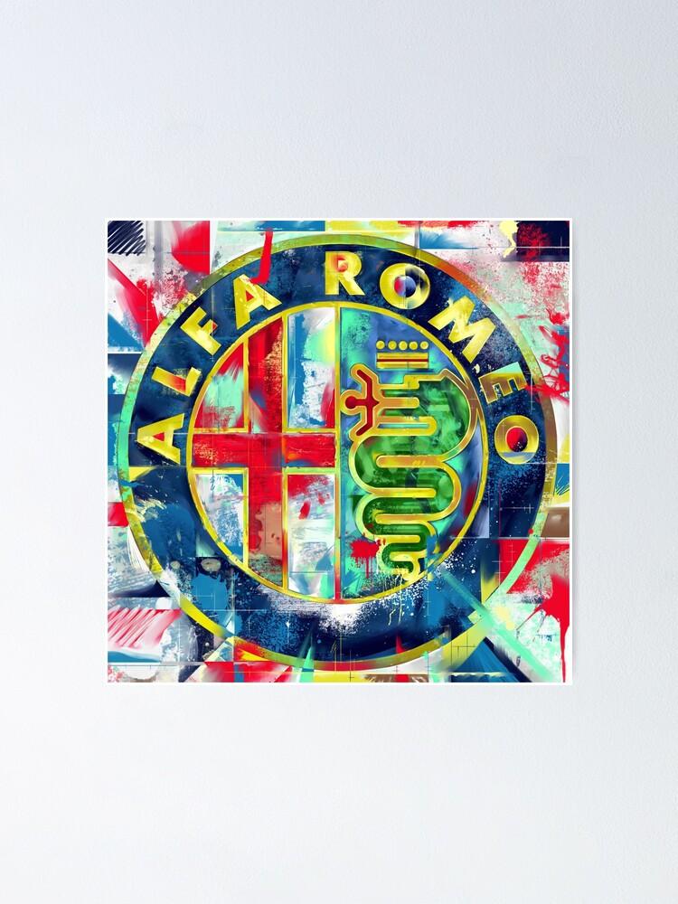 ALFA ROMEO Rosette Sticker