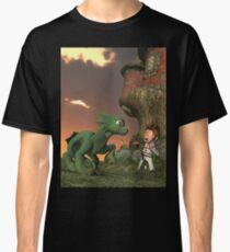 Little Dragon Slayer  Classic T-Shirt