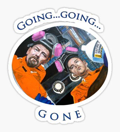 Going, Going, GONE Sticker