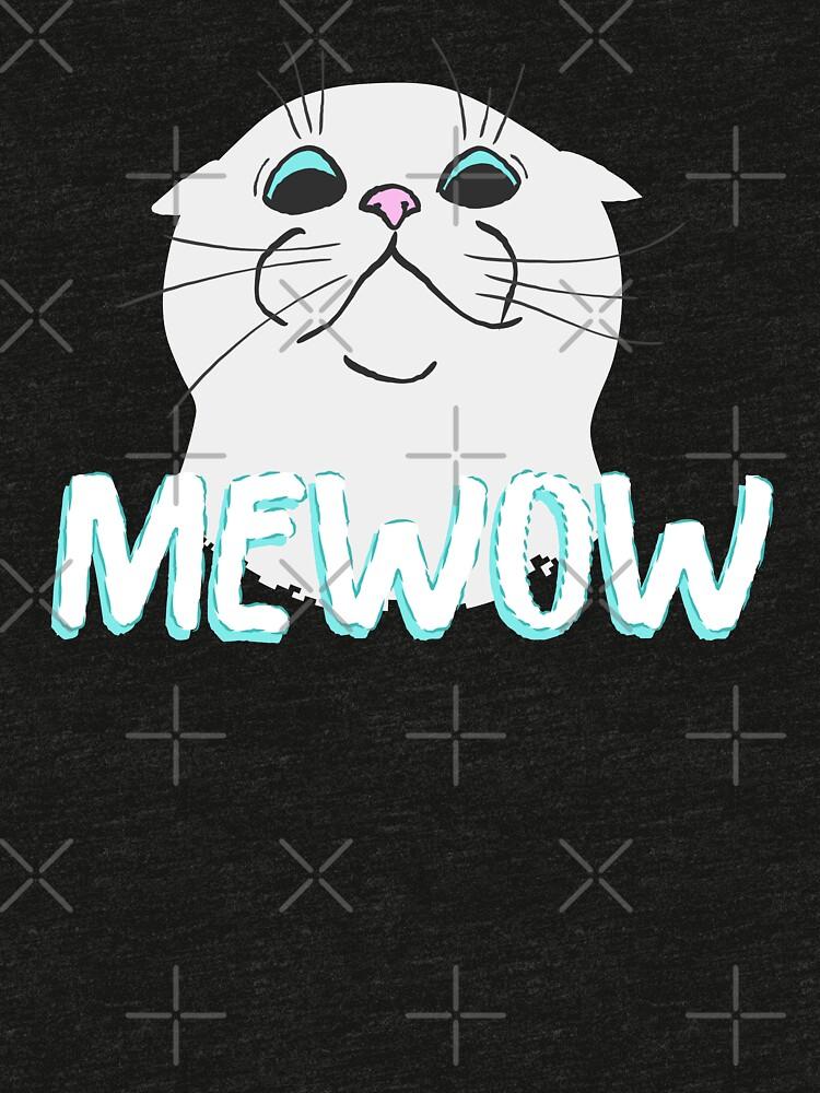 Mewow Cat by amedeea