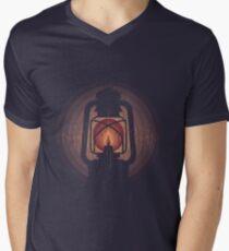 oil lamp Men's V-Neck T-Shirt