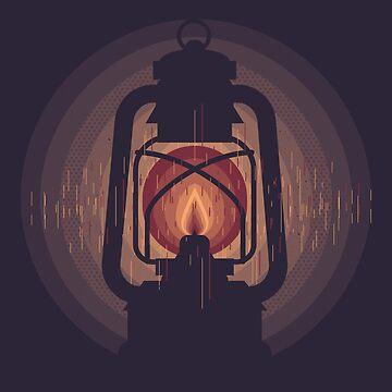 oil lamp by johannbrangeon