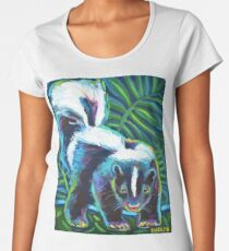 Cute SKUNK ART Women's Premium T-Shirt