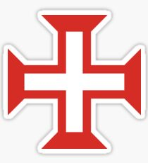Cross of the Order of Christ Sticker