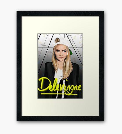 Cara Delevingne: Framed Prints