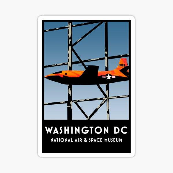 Air & Space Museum - Washington DC Sticker