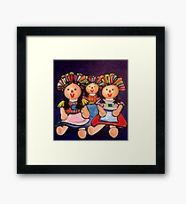 Maria Dolls Trio Framed Print