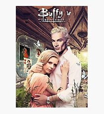 Buffy & Spike Photographic Print