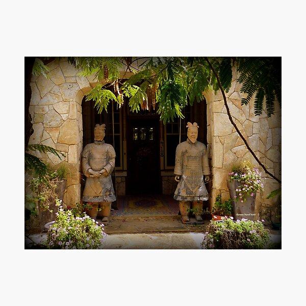 Ancient Guards Photographic Print
