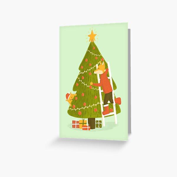 Merry Christmas Mr. Fox Greeting Card